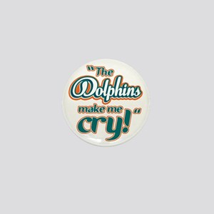 DolphinsMakeMeCry_Dark Mini Button