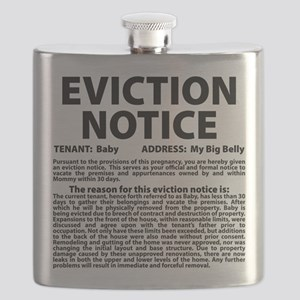 Baby Eviction Notice Flask