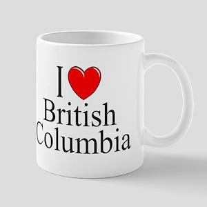 """I Love British Columbia"" Mug"