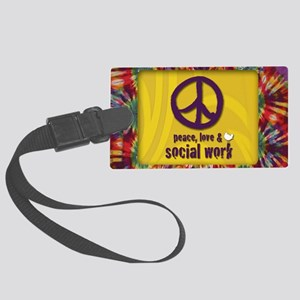 PeaceMagnet Large Luggage Tag