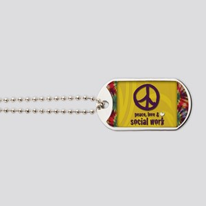PeaceMagnet Dog Tags