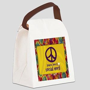 PeaceCalendar Canvas Lunch Bag