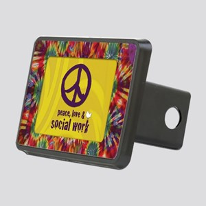PeaceCalendar Rectangular Hitch Cover