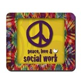 Social work Mouse Pads
