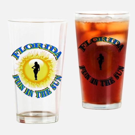 SUNFUN.gif Drinking Glass