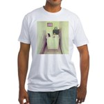 Oh Cubicle Sweet Cubicle Fitted T-Shirt