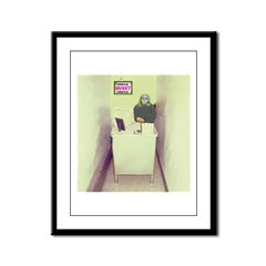 Oh Cubicle Sweet Cubicle Framed Panel Print