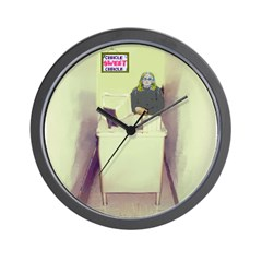 Oh Cubicle Sweet Cubicle Wall Clock