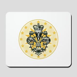 Saint Icon Fleur medallion Mousepad