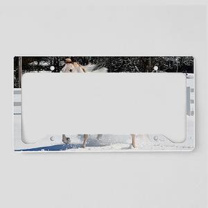 Horse_35_print License Plate Holder