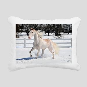 Horse_35_print Rectangular Canvas Pillow