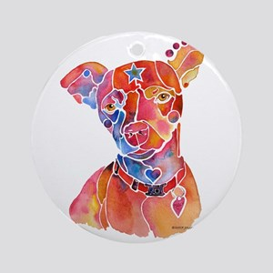Mixed Breed Ornament (Round)