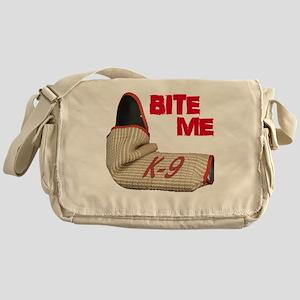 BITE ME - Certified K9 Decoy (dark) Messenger Bag