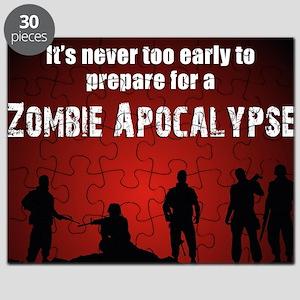 Zombie Apocalypse Recruiting Puzzle