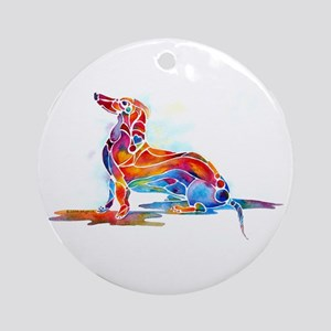 Dachshund Gifts Ornament (Round)