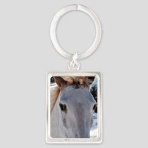 horse_eyes_rnd2 Portrait Keychain