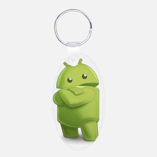 Android Central Logo Keychains