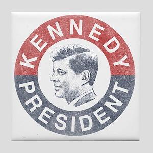 kennedypresident1960-nobg copy Tile Coaster
