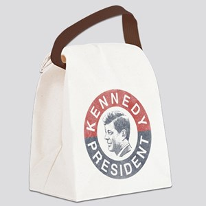 kennedypresident1960-nobg copy Canvas Lunch Bag