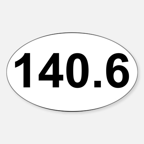 New 140 Oval logo Sticker (Oval)