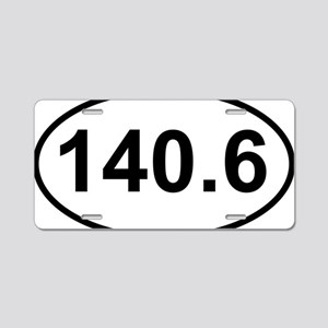 New 140 Oval logo Aluminum License Plate