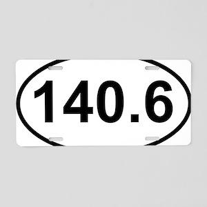 New 140 Oval logo Aluminum License Plate