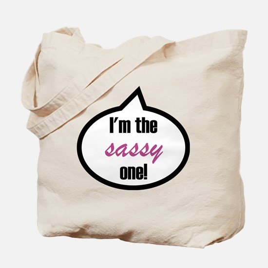 Im_the_sassy Tote Bag