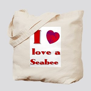 I love a seabee Tote Bag