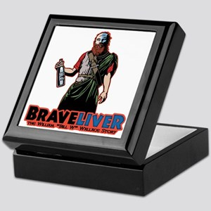 brave-liver-T Keepsake Box