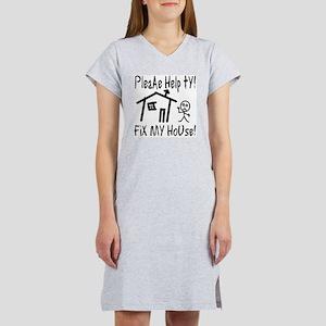 please_help_ty Women's Nightshirt