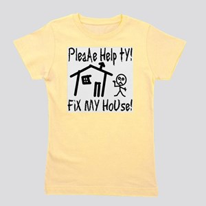 please_help_ty Girl's Tee