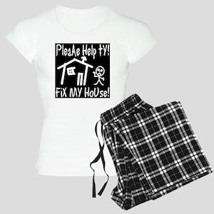 please_help_ty_invert Women's Light Pajamas