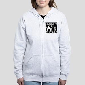please_help_ty_invert Women's Zip Hoodie