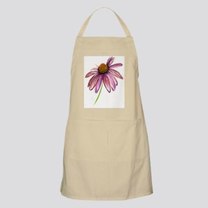 purple and pink coneflower Apron