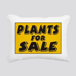 plants Rectangular Canvas Pillow