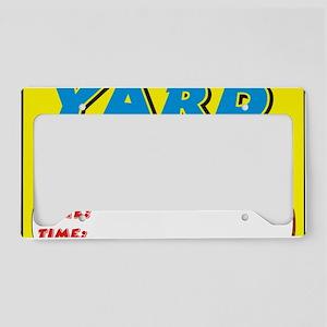 yard sale dt License Plate Holder