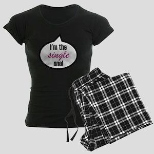 2-Im_the_single Women's Dark Pajamas