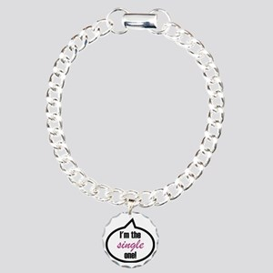 2-Im_the_single Charm Bracelet, One Charm