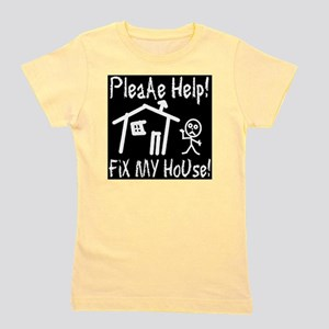 please_help_fix_my_house_invert Girl's Tee