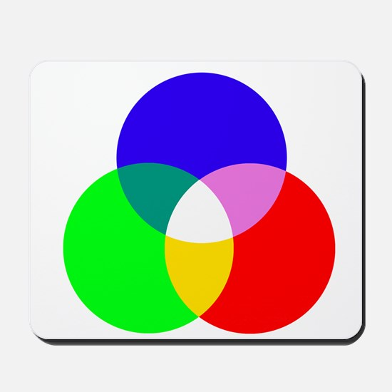 Lighting Primary Color Mousepad