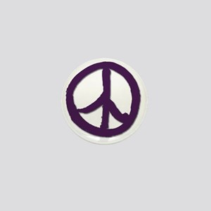 PeaceSignTshirtLARGE Mini Button