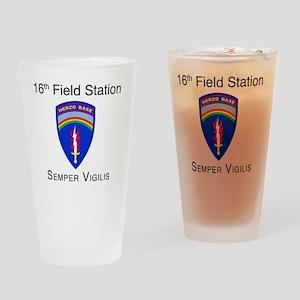 Herzo_Tshirt Drinking Glass