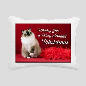 Maddie Christmas Card Rectangular Canvas Pillow