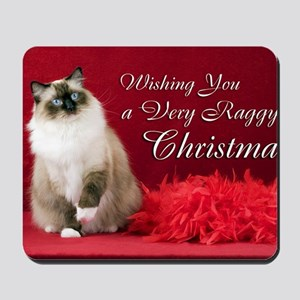 Maddie Christmas Card Mousepad