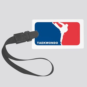 taekwondo Large Luggage Tag