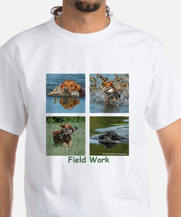 Field Work White T-Shirt