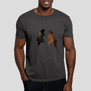 DANCING BEARS BLK/BRWN Dark T-Shirt