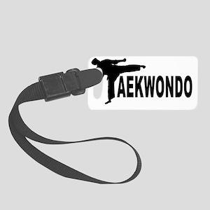 taekwondo AAA Small Luggage Tag
