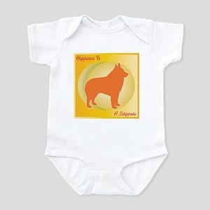 Schipperke Happiness Infant Bodysuit