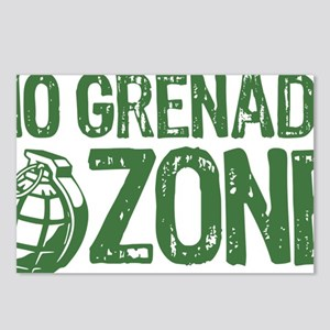 No Grenades Green Postcards (Package of 8)
